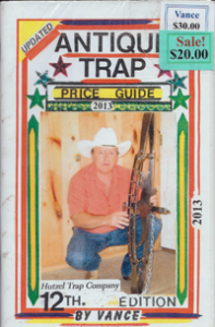 Antique Trap Price Guide 2013