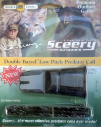 Sceery Double Barrel Low Pitch Predator Call