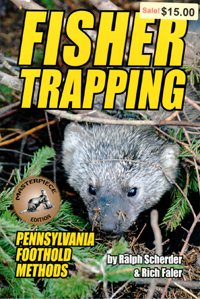 Fisher Trapping Pennsylvania Foothold Methods