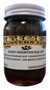 Rocky Mountain Rub Lure, Bobcat Lure, Predator Lure, Canine Lure, Snaring, Animal Control, Snaring, Trapping Supplies