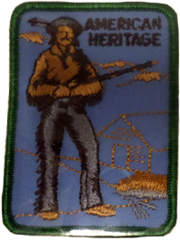 Sew On Patch American Heritage