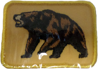 Sew On Patch Bear