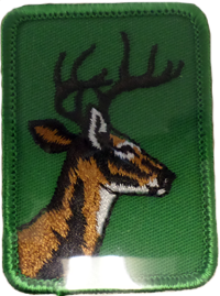 Sew On Patch Deer