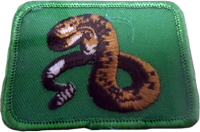Sew On Patch Snake
