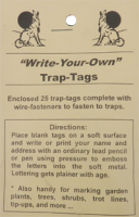 Trap Tags