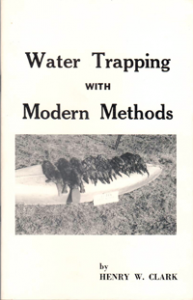 Water Trapping with Modern Methods